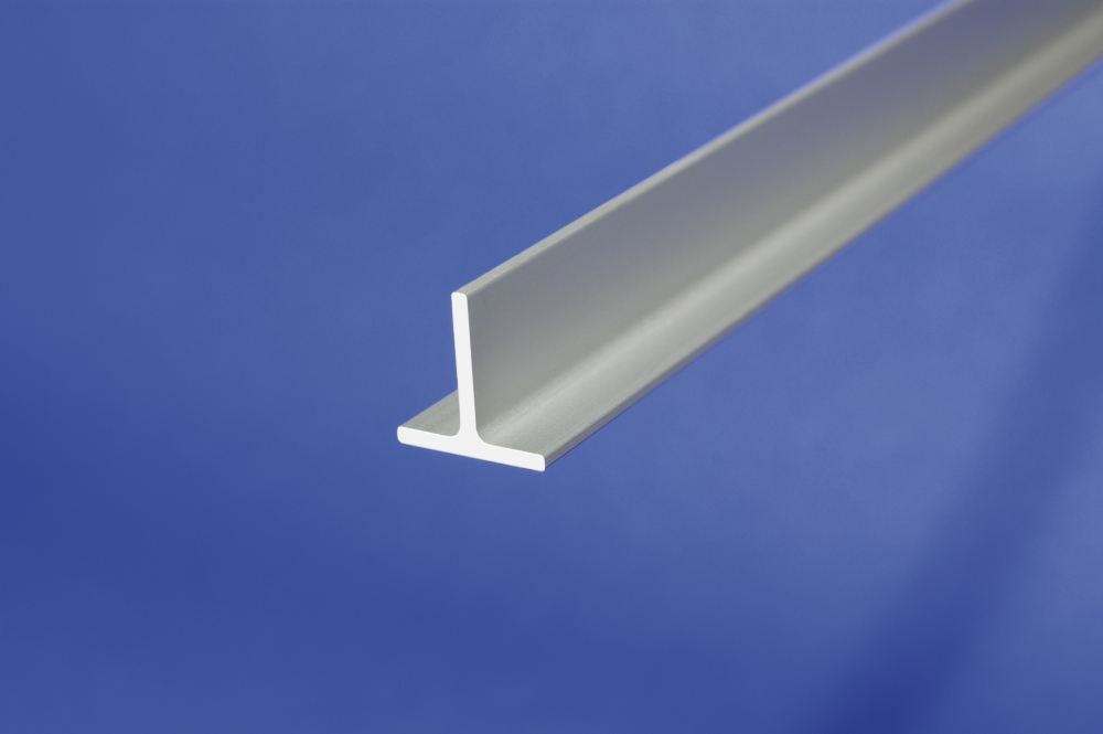 Aluminum Anodised Channel T Shape Section Bar T Profile