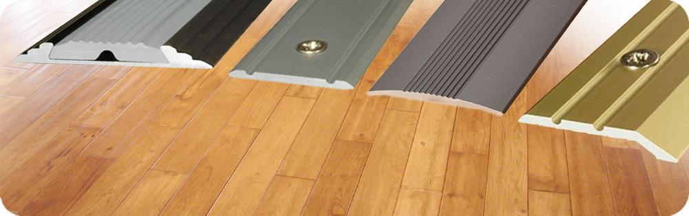Flat Anodised Aluminium Door Floor Edging Bar Strip Trim Threshold