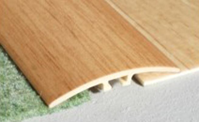 Upvc Self Adhesive Wood Effect Door Edging Floor Trim Threshold 1000