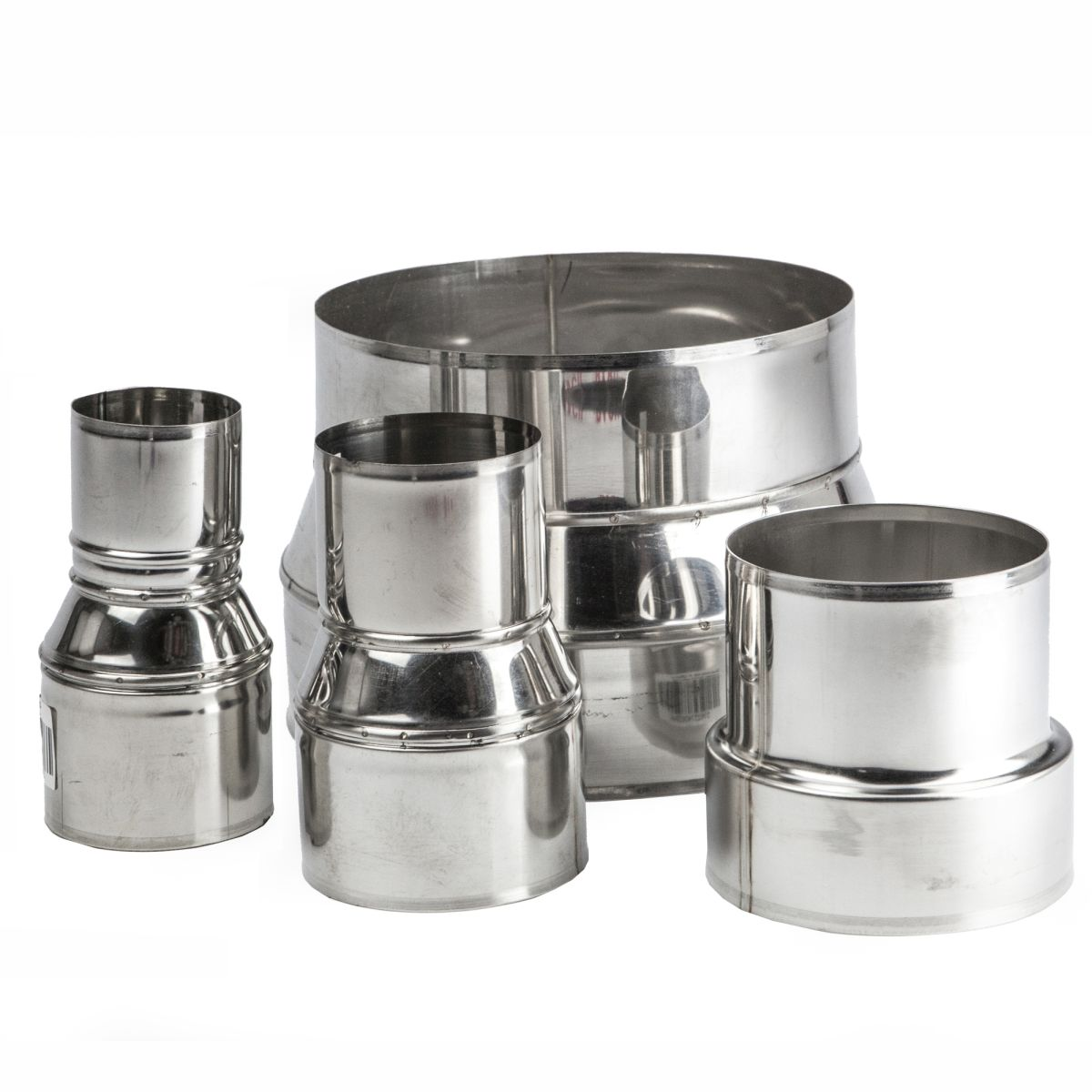 Stainless Steel Flat Collar Top Plate Pipes Stove Chimney