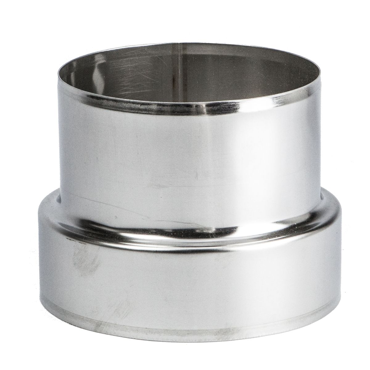 Stainless Steel Pipe Connector Adaptor Chimney Flue Liner